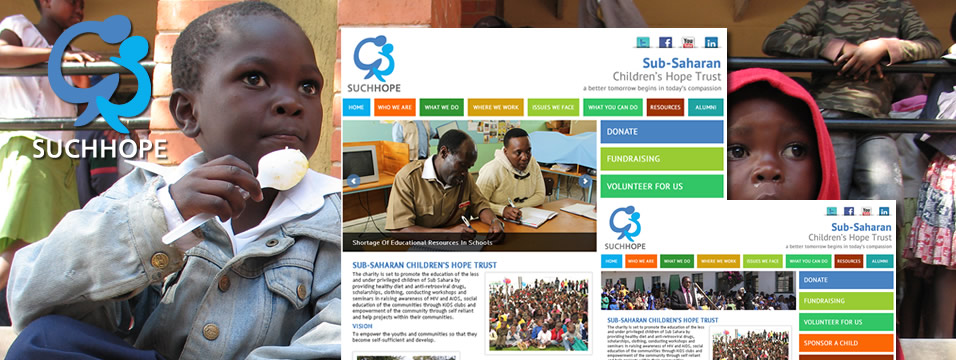 Charity Website Branding